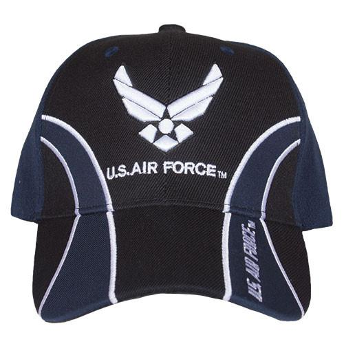 Air Force Navy/Blue Guard Embroidered Military Ball Cap