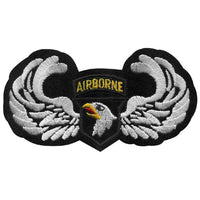 "101st Airborne Division Army Eagle with Wings 2.5"" x 4.5"" Embroidered Patch"