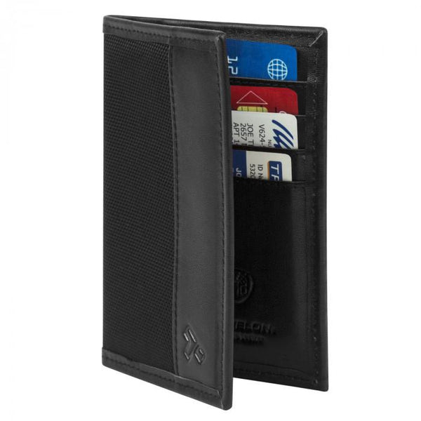 SafeID Classic RFID Blocking Passport Case Black Balistic