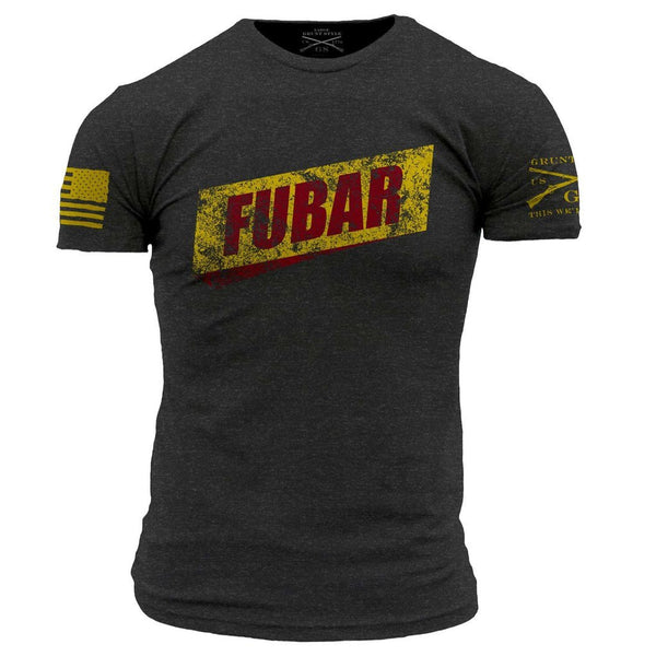 FUBAR T-Shirt- Grunt Style Men's Graphic Military Tee Shirt
