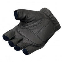 Naked Leather Fingerless Men's Gloves