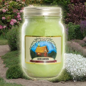 Herb Garden Mason Jar Candle - Star Spangled 1776