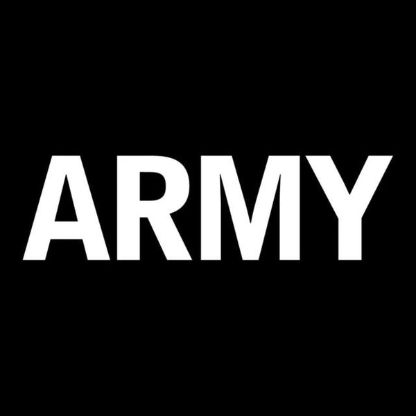 Army Military Vinyl Window Decal