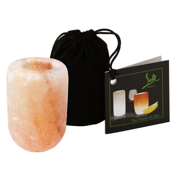 Pink Himalayan Salt Shotz Glass