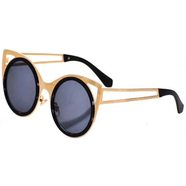 Star Light Polished Cat Frame Sunglasses P.A.E.