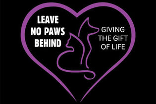 October Charity Spotlight on Leave No Paws Behind