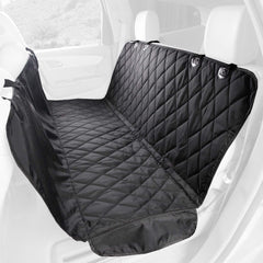 Premium Rear Seat Cover with Hammock Black