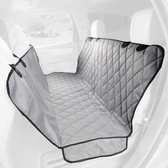 Premium Rear Seat Cover with Hammock For Cars Trucks and SUVs