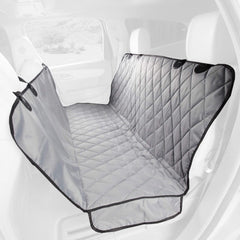 Grey Premium Rear Seat Cover with Hammock