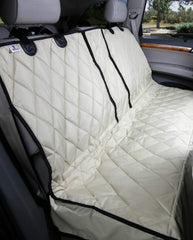 Multi-Function Split Rear Seat Cover Tan