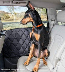 Car Door Covers With Doberman