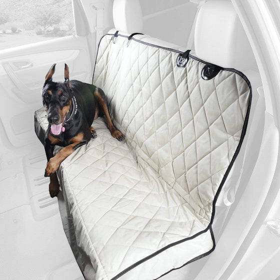 Premium Rear Seat Cover without Hammock for Cars, Small Trucks, and SUVs (Fitted)
