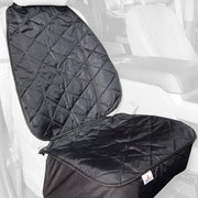 Black Bucket Front Seat Cover For Cars