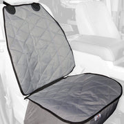 Bucket Front Seat Cover For Cars Grey