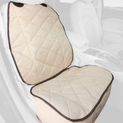 Bucket Front Seat Cover For Cars Tan