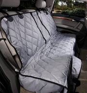 Grey Split Rear Seat Cover with Hammock