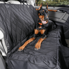Dog Rear Seat Cover with Hammock