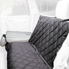 Split Rear Seat Cover With Seat Folded Down