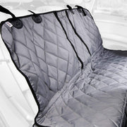 Grey Multi-Function Split Rear Seat Cover