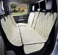 Truck Seat Cover with Hammock Tan