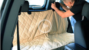 Install your Rear Seat Cover