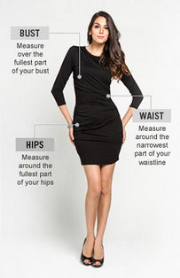Women's size guide - how to choose the right size