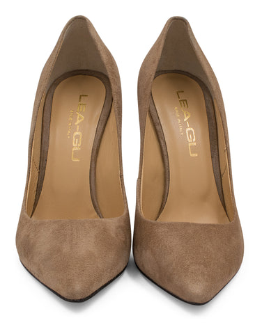 Pumps in Suede | Pumps | Lea-Gu | CrossChic.com