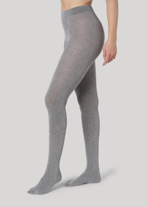Our premium Simone Cashmere tights are warm yet light and breathable cashmere tights.