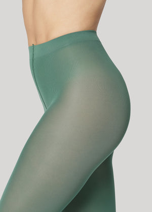 The Rebecca 50 denier is the classical medium coverage tights made using only recycled materials and 3D knitting technology for durability and longevity.