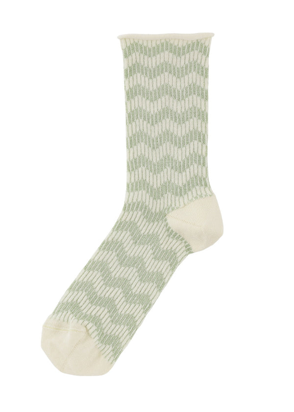 Karen Zigzag Yellow/Mint