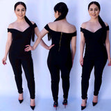 Miss Independent Jumpsuit - Black