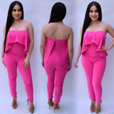 Pure Hollywood Jumpsuit - Hot Pink
