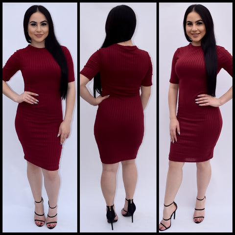 Audrey - Burgundy - Small