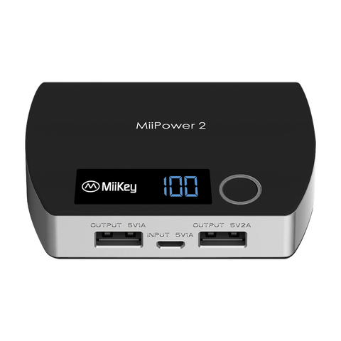 MiiKey MiiPower2 Powerbank Dual Charger 5200 mAh