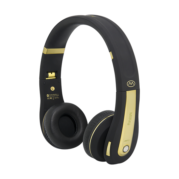 MiiKey Rhythm Pro Wireless Bluetooth 4.0 Headphone with Microphone Free Shipping to US
