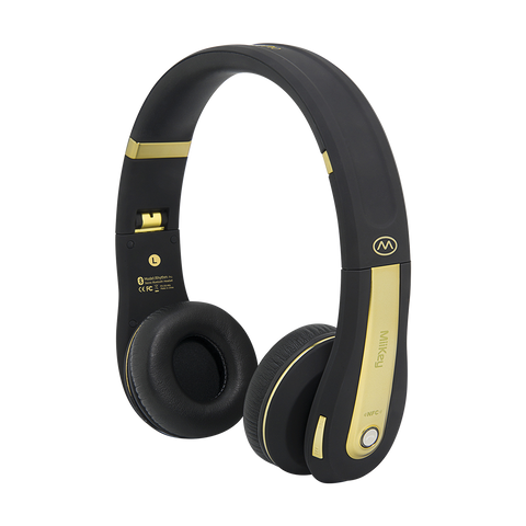 MiiKey Rhythm Pro Wireless Bluetooth 4.0 Headphone with Microphone