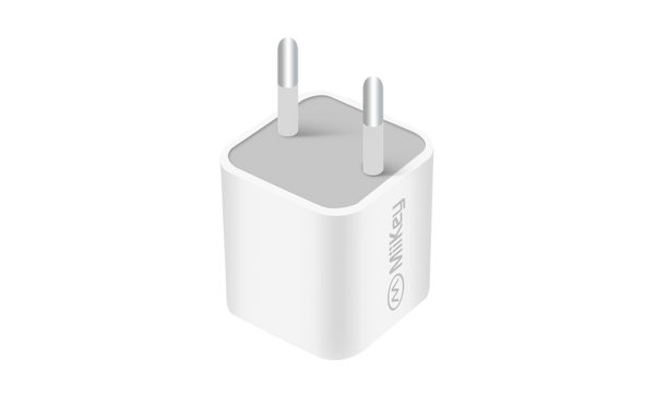 MiiKey A/C Wall Adapter Euro Cube