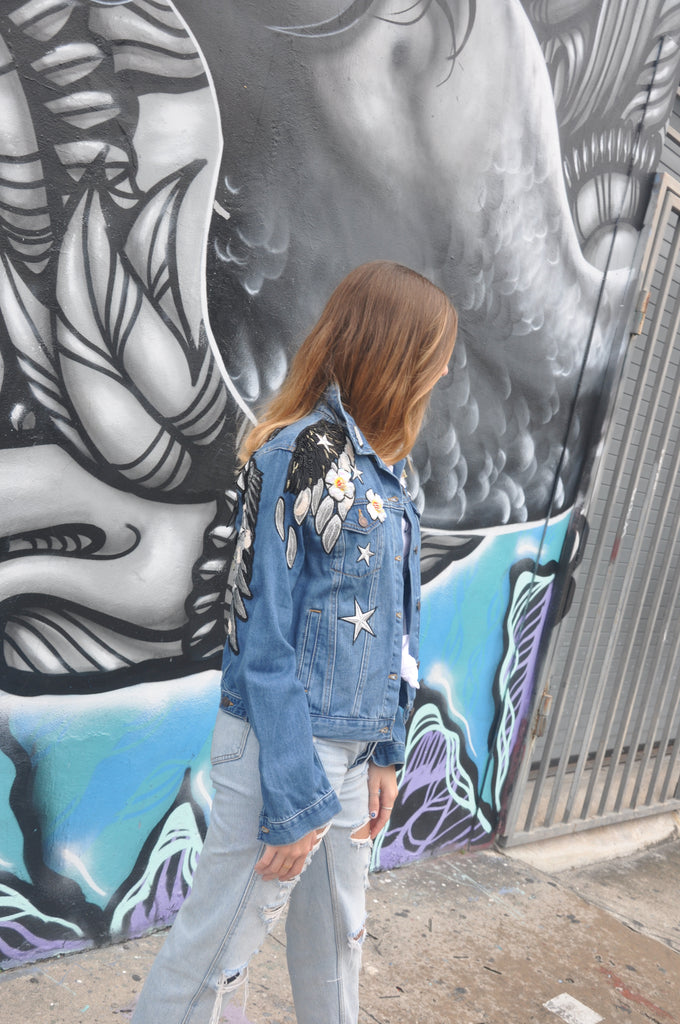 Angels Wings to fly Jacket. Regular FIT