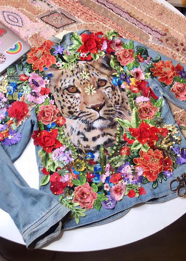 Vintage ROAR Denim Jacket.