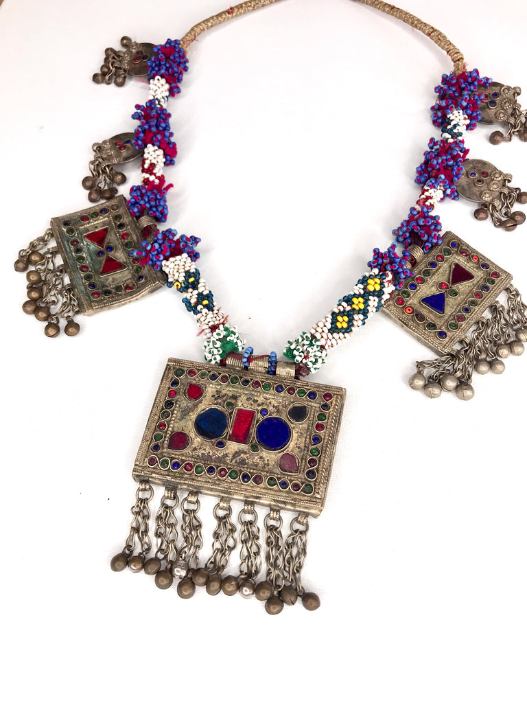 New Vintage Afghan Necklace