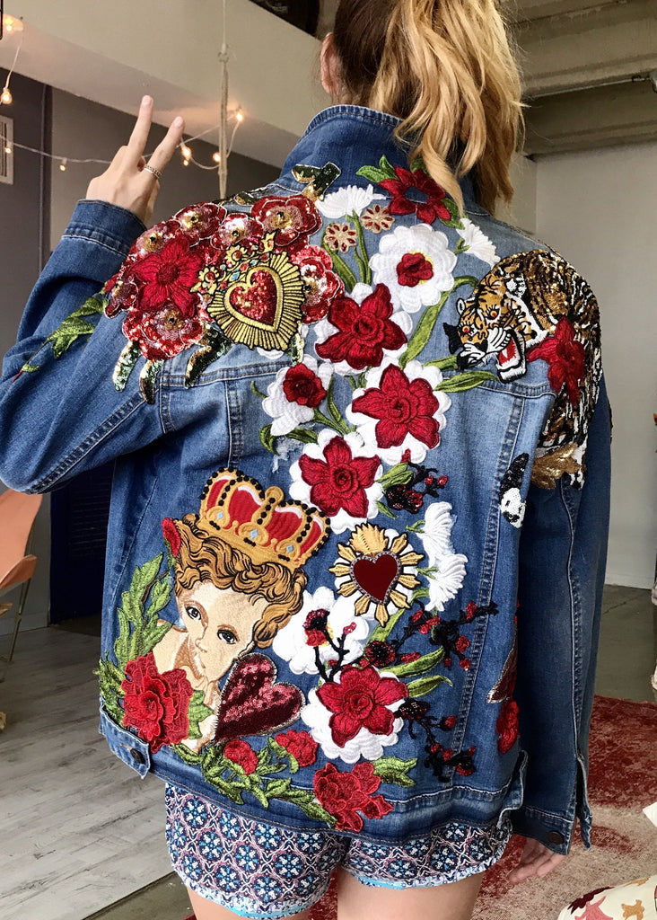 Angels and Roars Denim Jacket