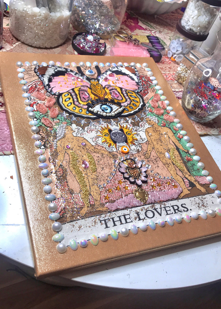 CANVAS Tarot The Lovers