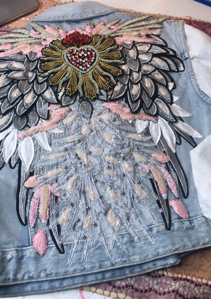 New Vest/Jacket Archangel Michael Sacred Heart