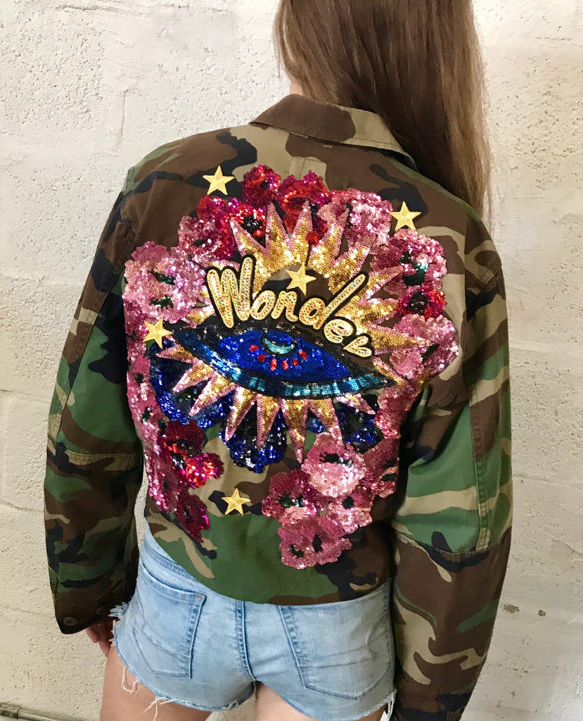Vintage Protected Wonders Camo Jacket.