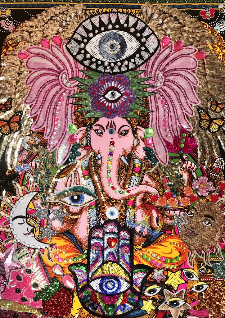 CANVAS Ganesh Master of New Beginnings Extra Large