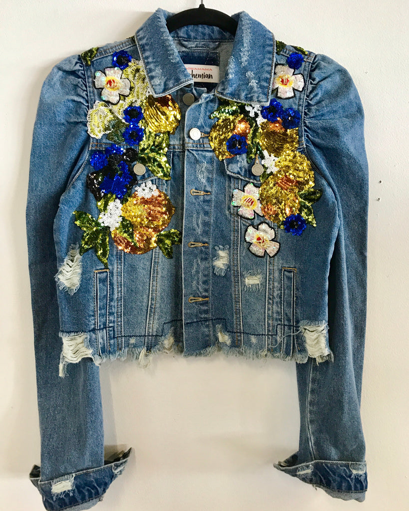 Iconic Iris Denim Jacket