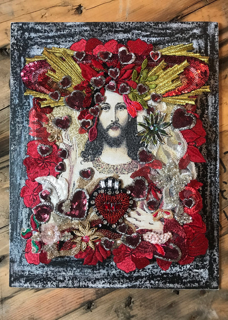 CANVAS of the SACRED HEART