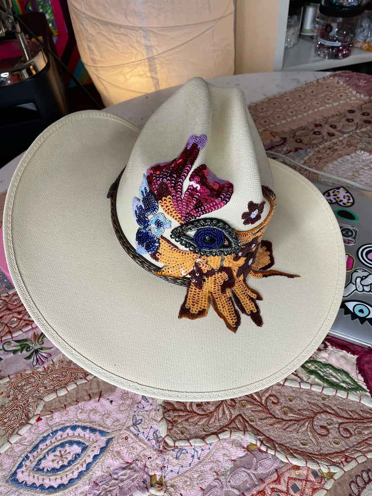 Mad Hatter Cowgirl hat