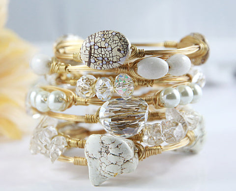 The Bridal Stack Bangles