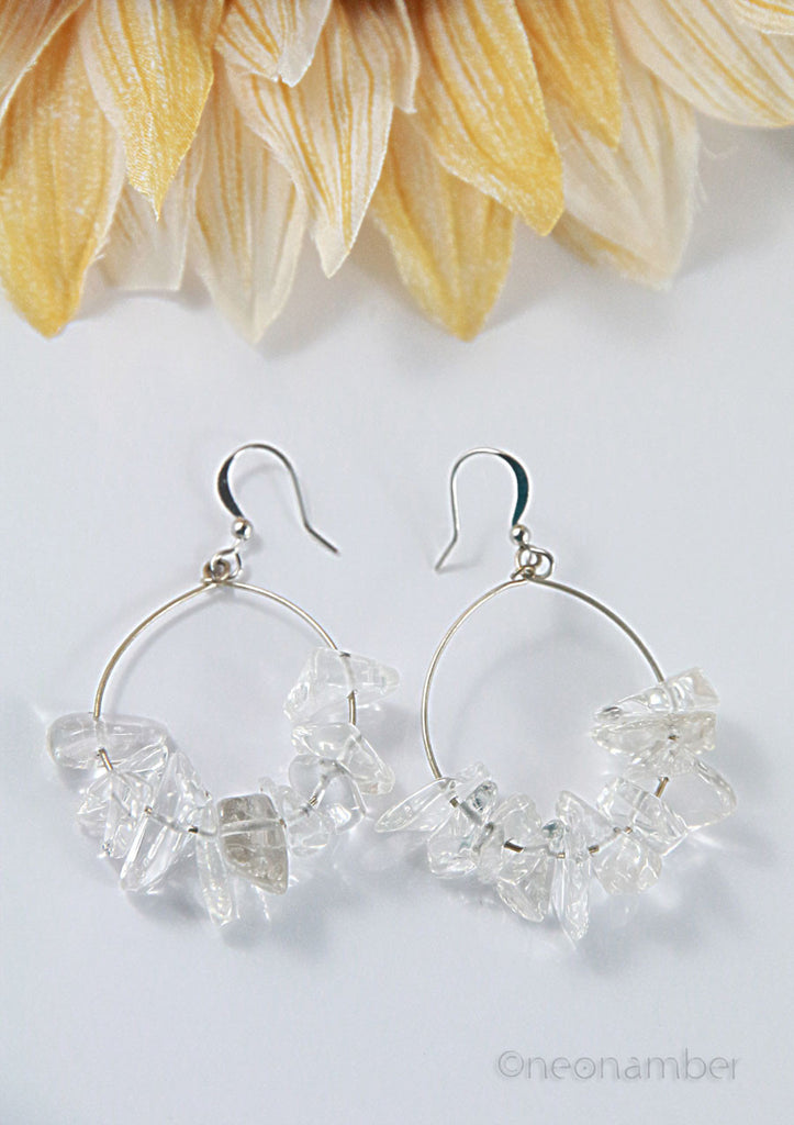 The Icy Loop Earrings